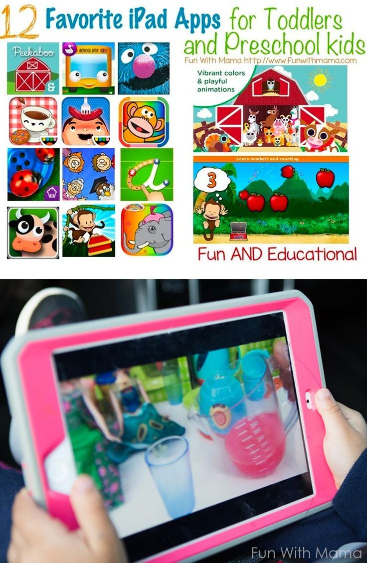 Ipad Games For Toddlers >> Ipad For Kids Favorite Educational Apps For Toddlers