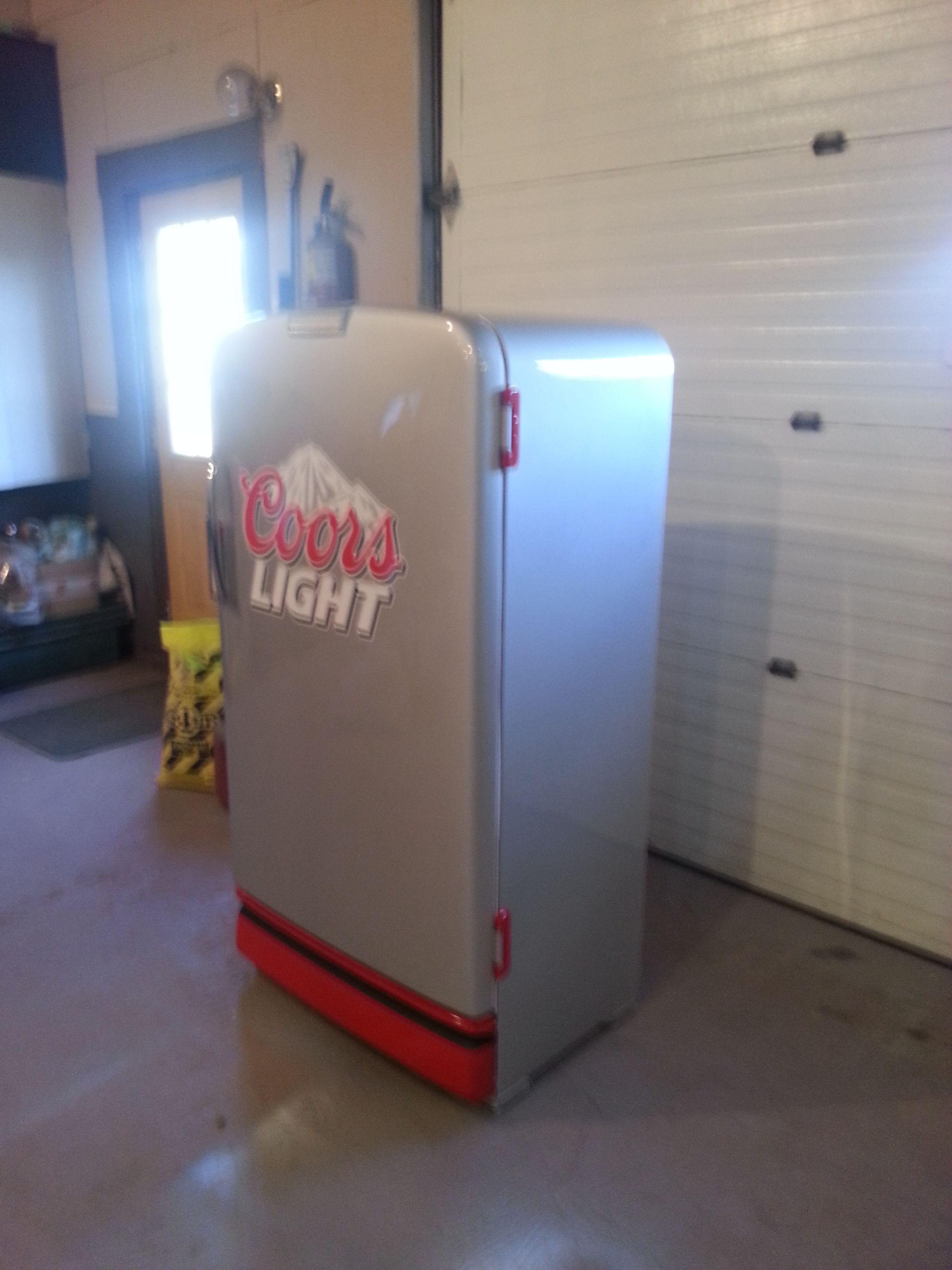Coors light vintage beer fridge pinterest coors light men coors light aloadofball Gallery