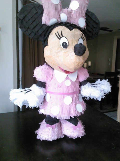 Minnie Mouse Pinata by SmashingFunCreations on Etsy, $60.00 | 2nd ...