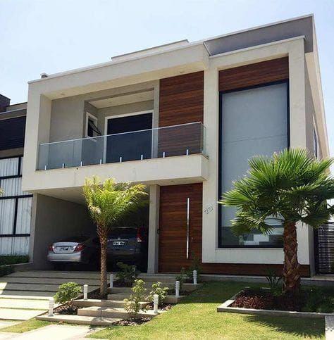 Sobrado lindo com varanda terreas also home designhome designshome decorhome exteriorhome exterior rh ar pinterest