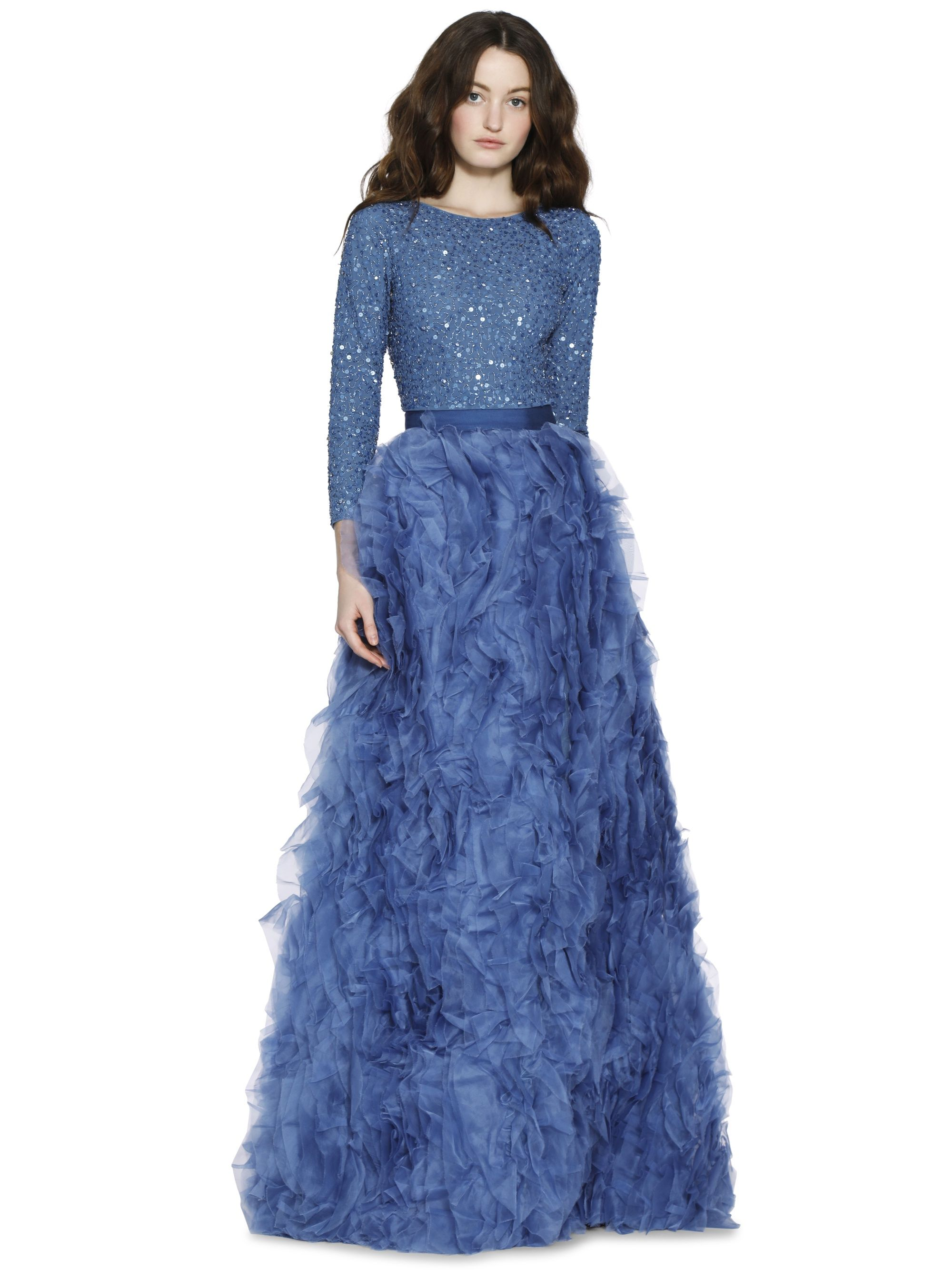 POSEY RUFFLE BALL GOWN SKIRT by Alice + Olivia | Stuff to Buy ...