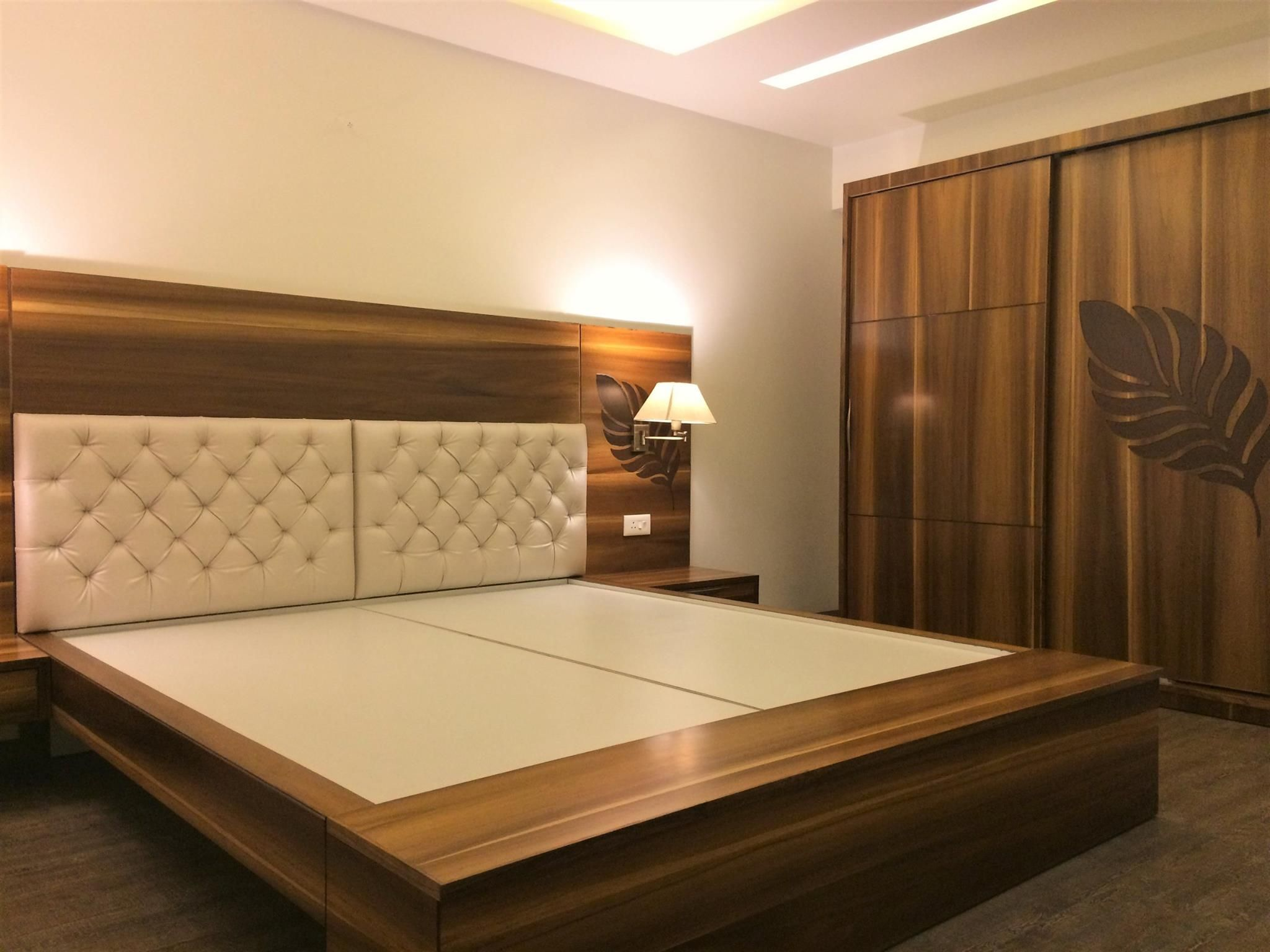 200+ Bedroom Designs - The Architects Diary | Wooden bed ...