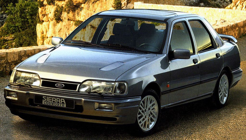 Ford Sierra Sapphire Rs Cosworth Car Specs Octane Ford Sierra Sierra Car Mid Size Car
