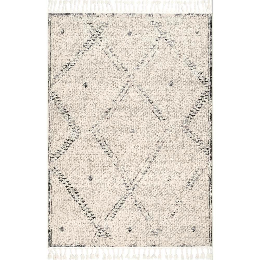 Nuloom Camilla Moroccan Vintage Ivory 9 Ft X 12 Ft Area Rug Stgl06a 9012 The Home Depot Moroccan Area Rug Area Rugs Black Area Rugs