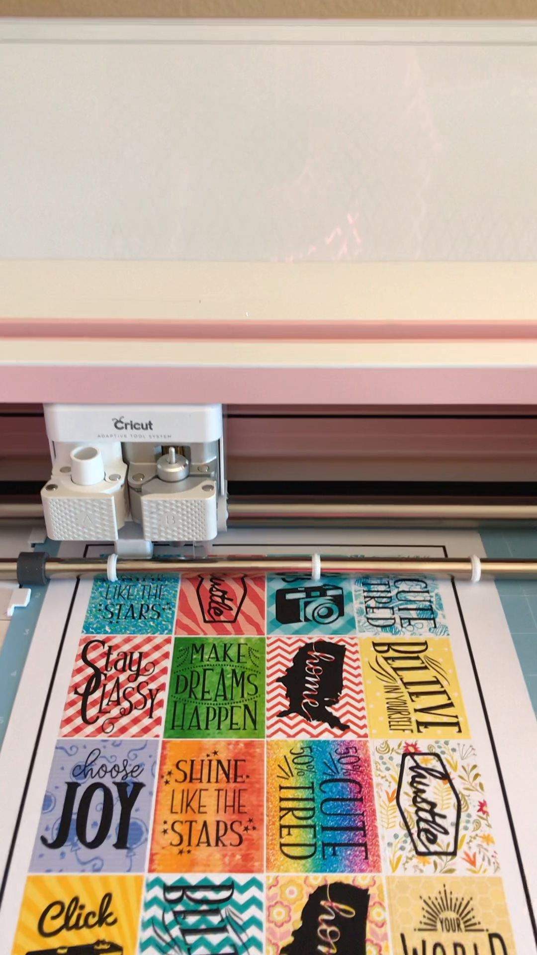 Make Stickers with your Cricut +Free SVG Files