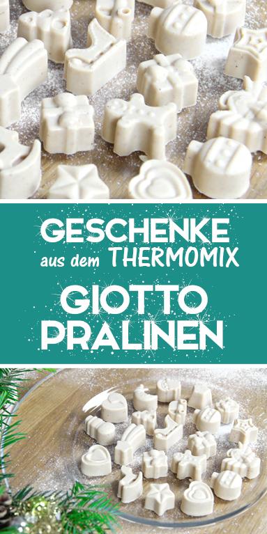 Giottopralinen ganz einfach selber machen. Rezept für Thermomix. Tolles Geschenk aus der Küche.