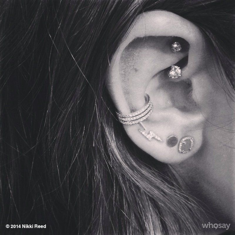 Ear Piercings Conch Amp Rook Piercing Ancient Adornments