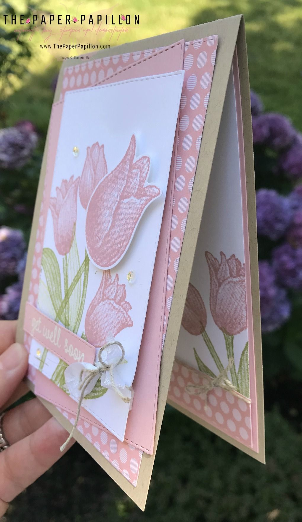 Timeless Tulips Get Well Soon Bay Stampin