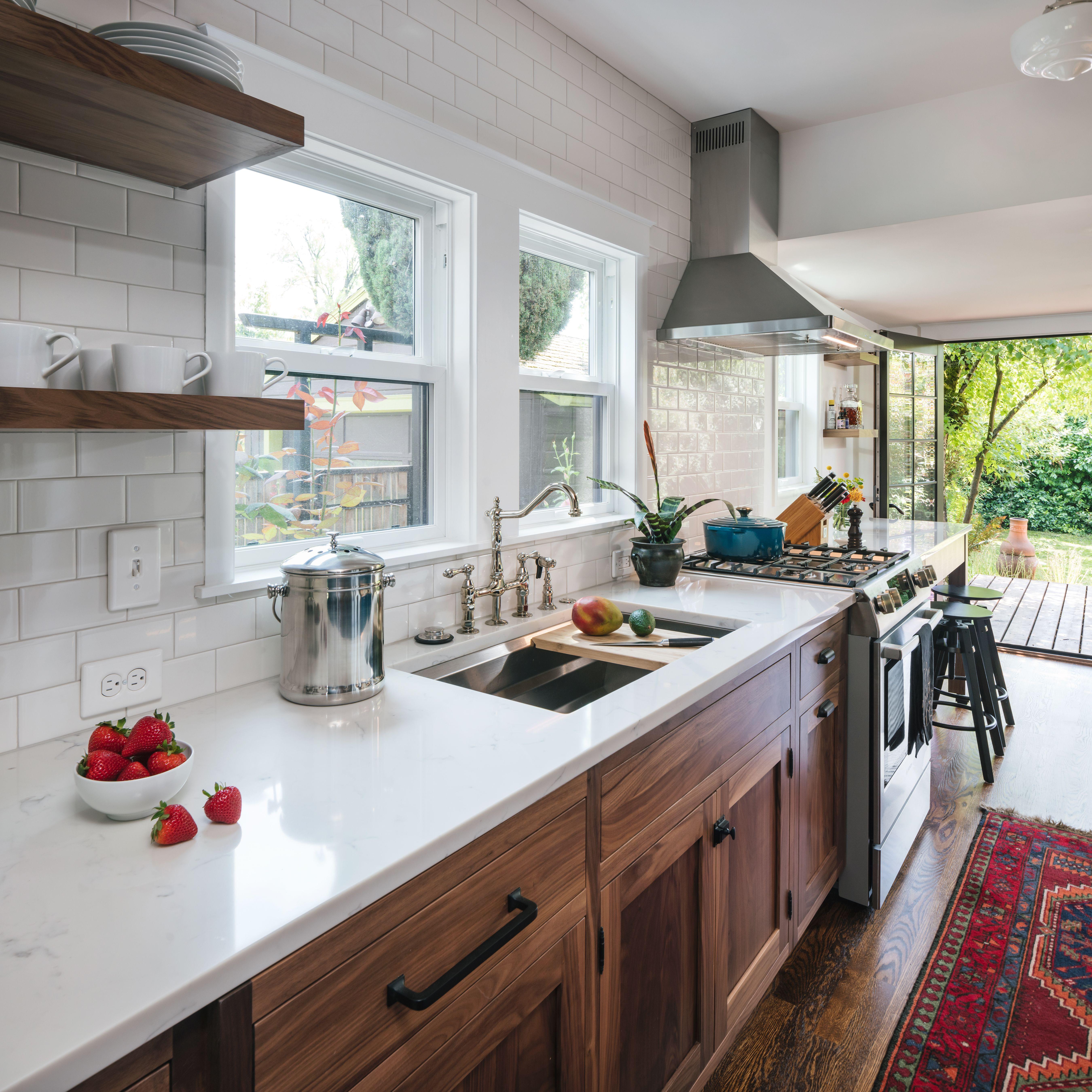 Modern Bohemian Kitchen Remodel In Portland Or Before After Kitchen Remodel Kitchen Bathroom Remodel Kitchen Design