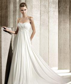 Stunning Empire Waist Chiffon Wedding Dress Photos - Styles & Ideas ...