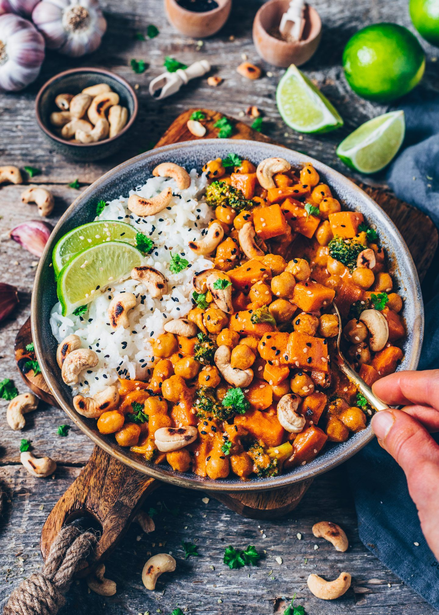 Sweet Potato Chickpea And Coconut Curry Grocery List