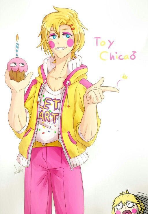 Yandere fnaf x reader - Yandere Male toy chica x chubby