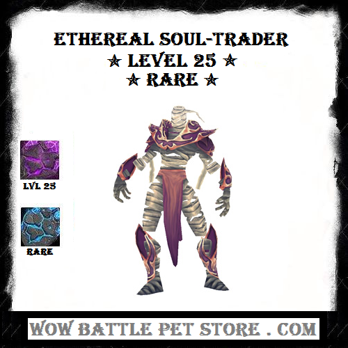 Ethereal Soul Trader Lvl 25 Warcraft Pets Wow Battle World Of