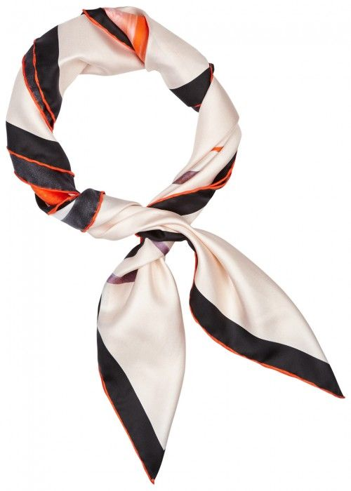 Free Shipping Cheapest Lady-print silk-twill scarf Givenchy Outlet Deals Visit New For Sale Cheap Real Finishline Fu2RjKT45
