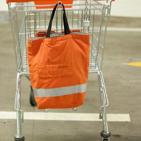 Der Shopper Aus Feuerwehrkleidung Heiss Nicht Upcycling