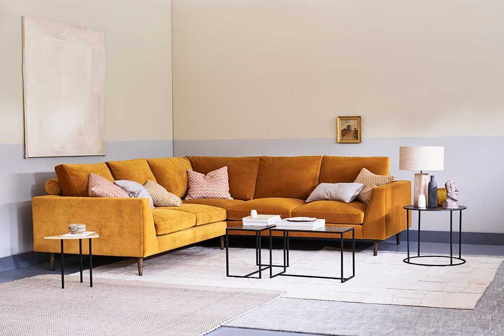 Symmetrical Corner Sofa Jake Corner Sofa Design Corner Sofa Living Room Velvet Sofa Living Room