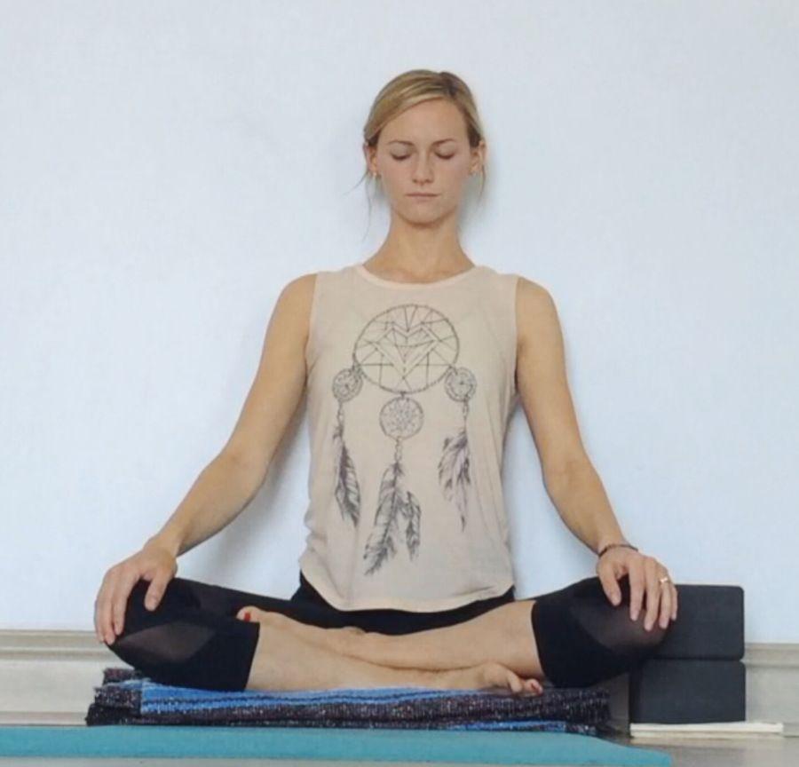Yin Yoga at the Wall   Yin yoga, Yin yoga sequence ...