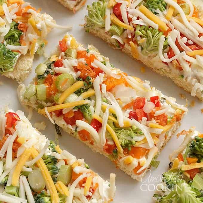Fruit Pizza Healthy Crust: This Appetizer Veggie Pizza Uses Crescent Dough, Flavored