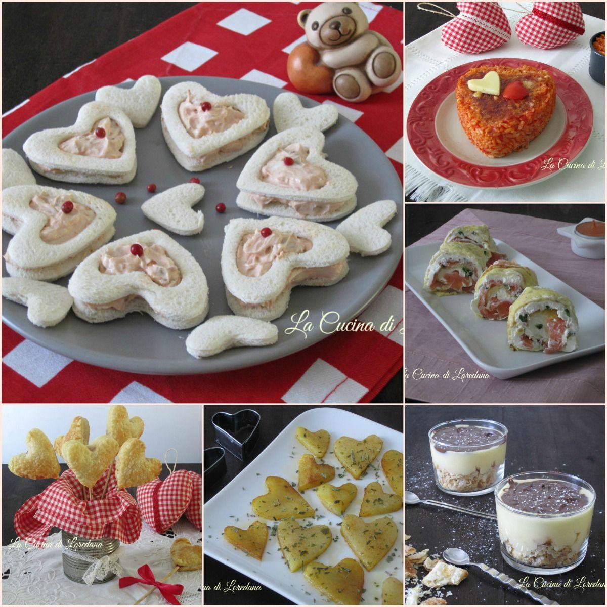 Ricette per San Valentino . Ricette semplici e sfiziose | Foods ...