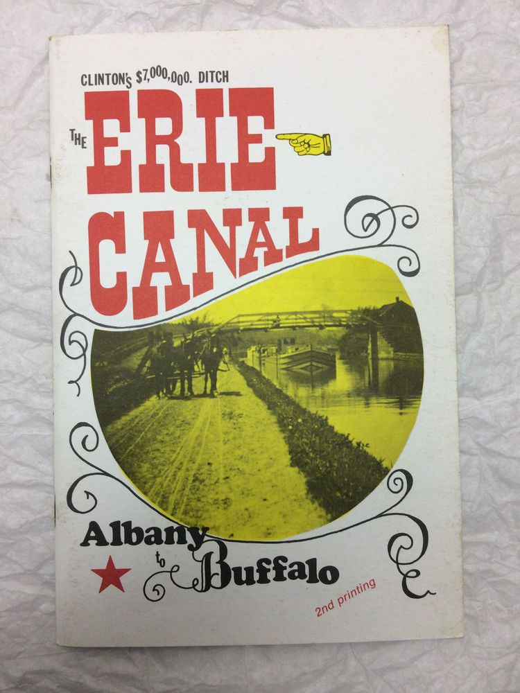 details about 1977 souvenir booklet the erie canal albany to buffalo