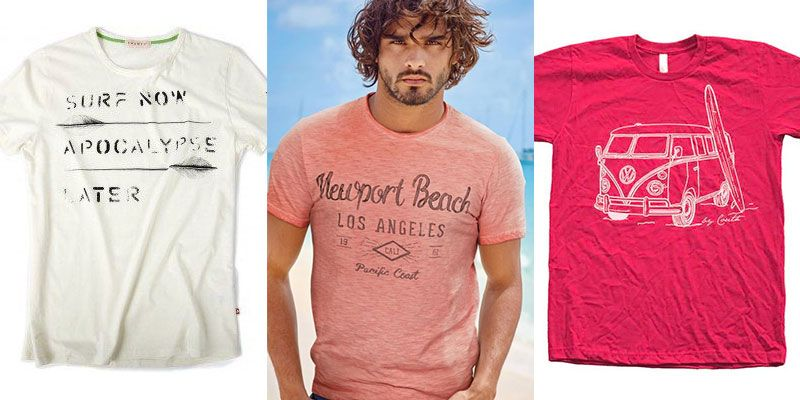 men's beach t-shirts