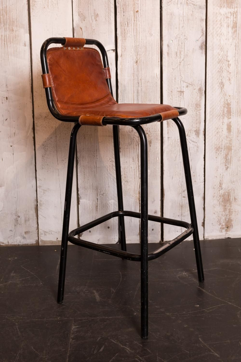 Leather Bar Stool In Benches Stools In 2020 Leather Bar Stools