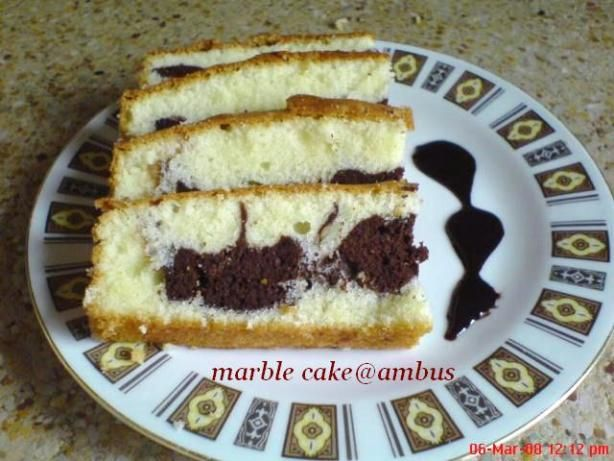 Make and share this Marble Cake recipe from Food.com.
