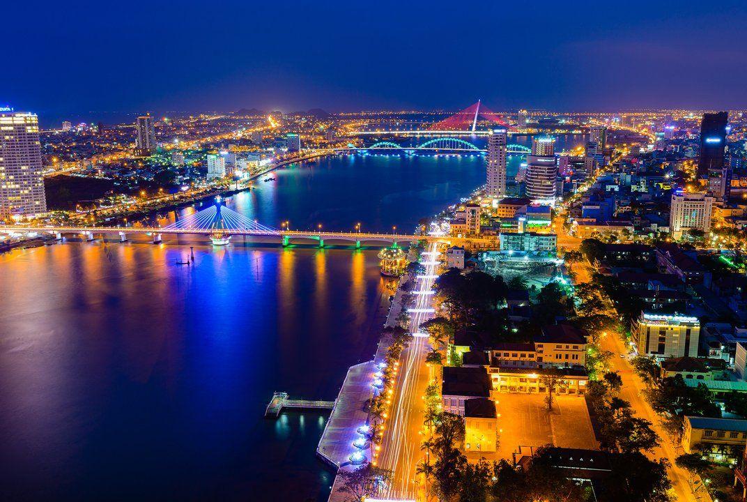 com Photo of the Day: Lights of Da Nang City | Da nang ...