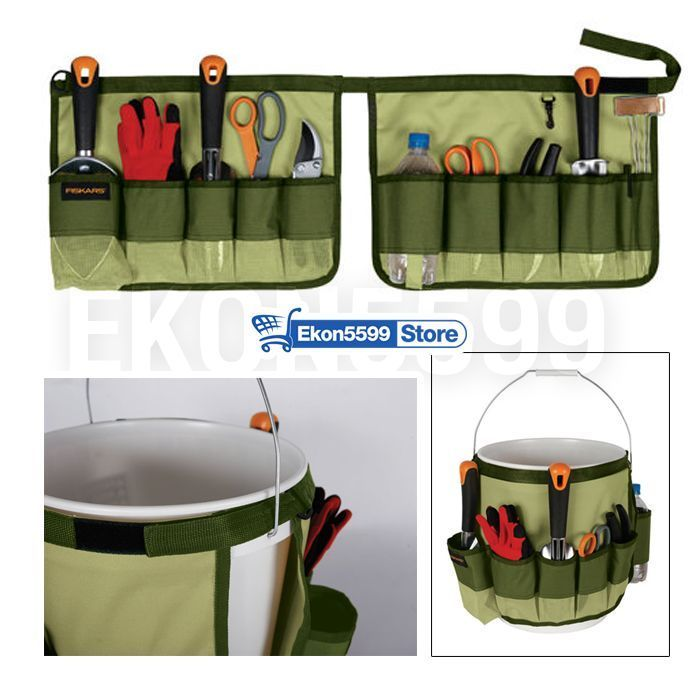 Tool Belts Pouches 5 Gallon Bag Caddy Gardening Small Tools Holder  Organizer New