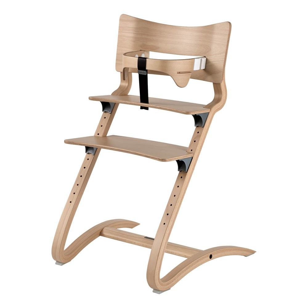 Natural High Chair Leander Baby A Large Selection Of Design On Smallable The Family Concept Store More Than 600 Brands High Chair Chair Chair Safe