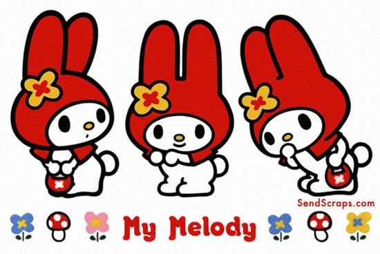 My Melody - swiss roll template