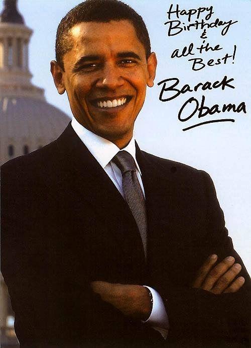 Pin By Pat Markham On Barack Obama Pinterest Birthday Happy