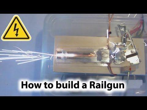 Do it yourself gadgets homemade railgun experiment guns do it yourself gadgets homemade railgun experiment solutioingenieria Images