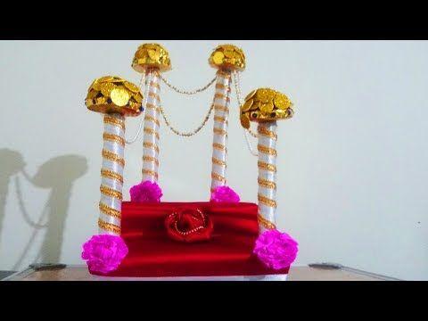 Easy Ganpati Makhar Ganesh Chaturthi Decoration Ideas At