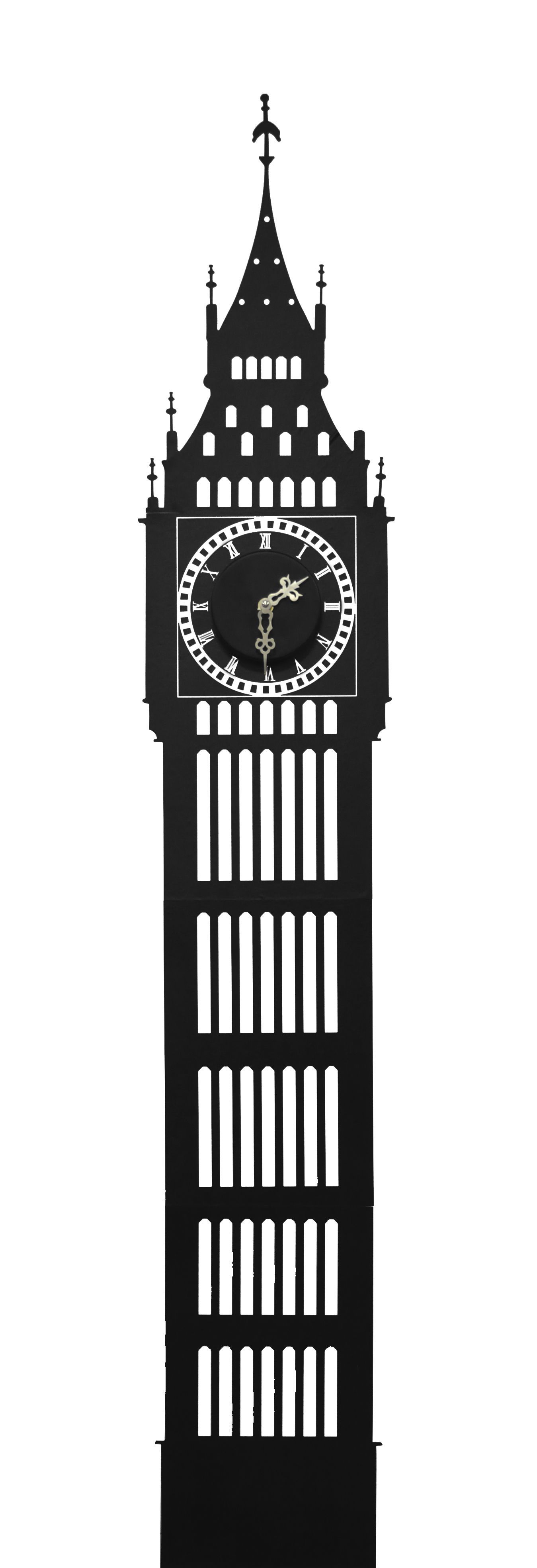 big ben wall sticker clock big ben silhouettes and google search the big ben wall sticker mounted clock novelty iconic design