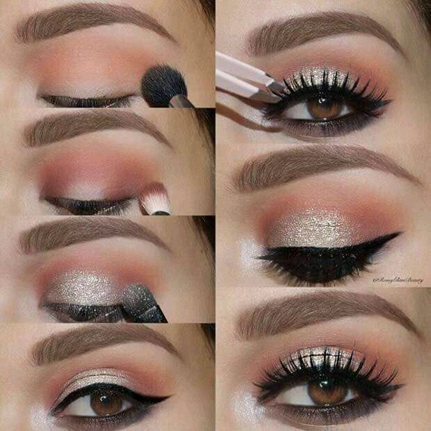 Tutorial With Eye Makeup For The Party
