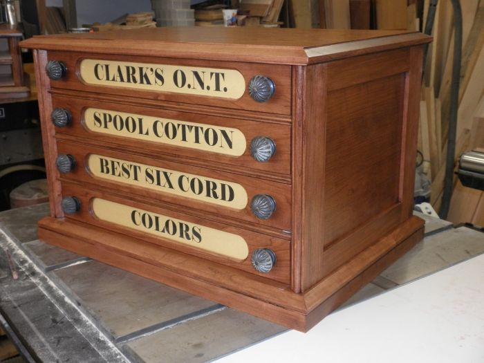 4-Drawer Spool Cabinet - 4-Drawer Spool Cabinet Embroidery Pinterest Embroidery