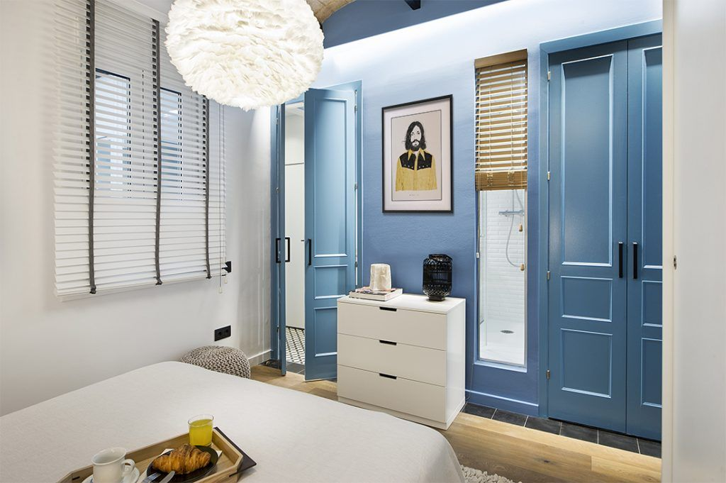 Slaapkamer in een stoer en stijlvol strand thema   Searching