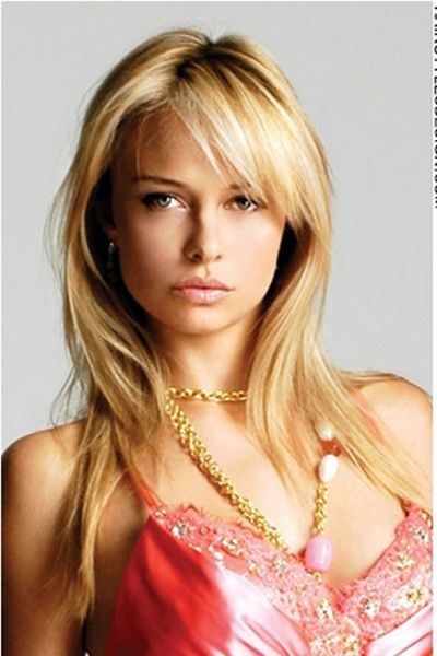 Sexy straight hairstyles