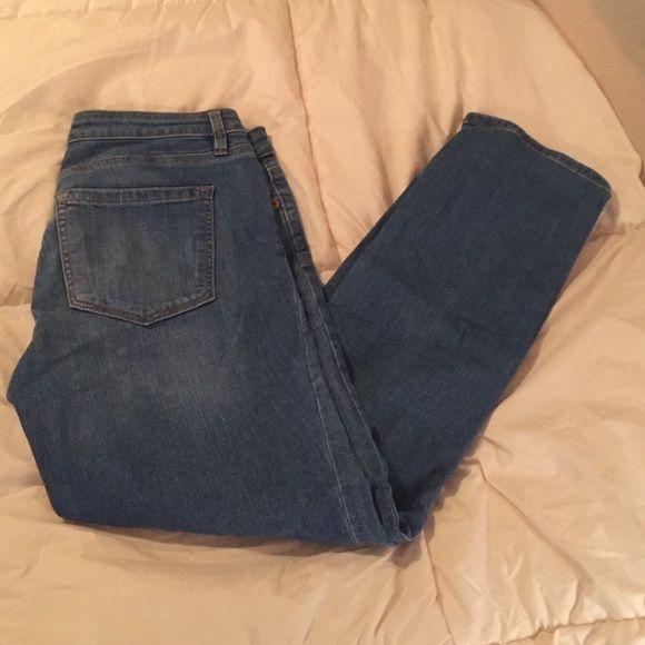 LOFT denim jeans LOFT denim jeans modern straight. Light blue. LOFT Jeans Straight Leg