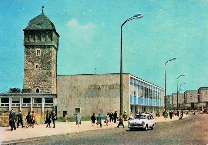 Roter Turm Und Strana 1968 Roter Turm Chemnitz Karl Marx Stadt