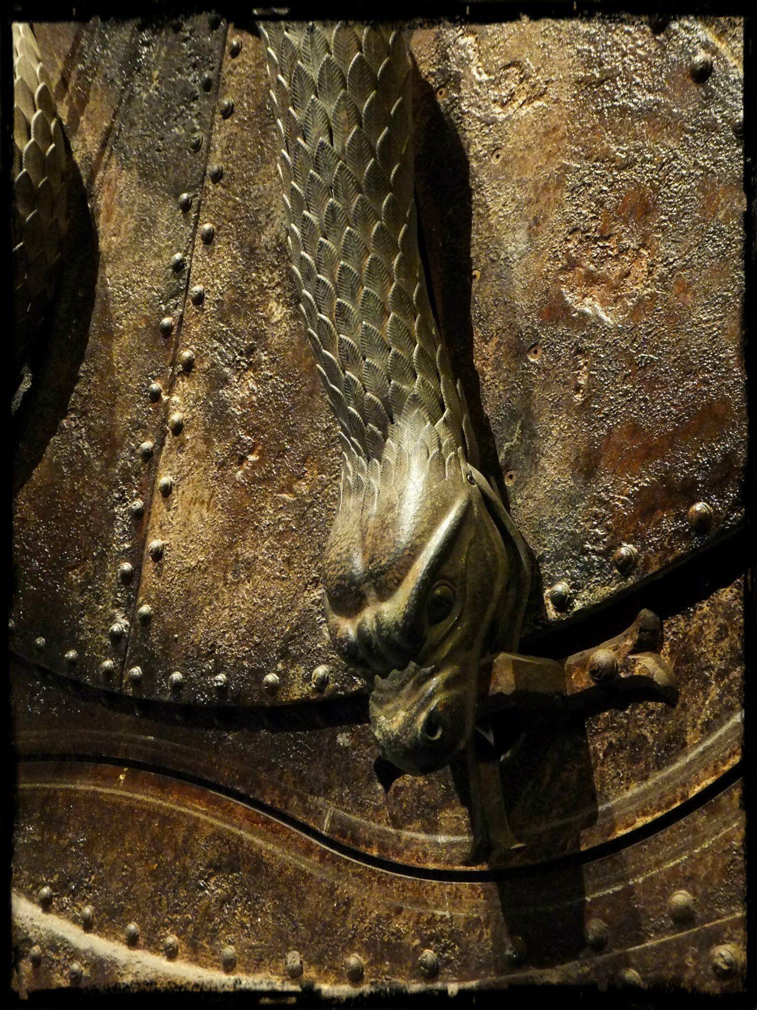 Chamber of Secrets Door Detail Harry potter studio tour