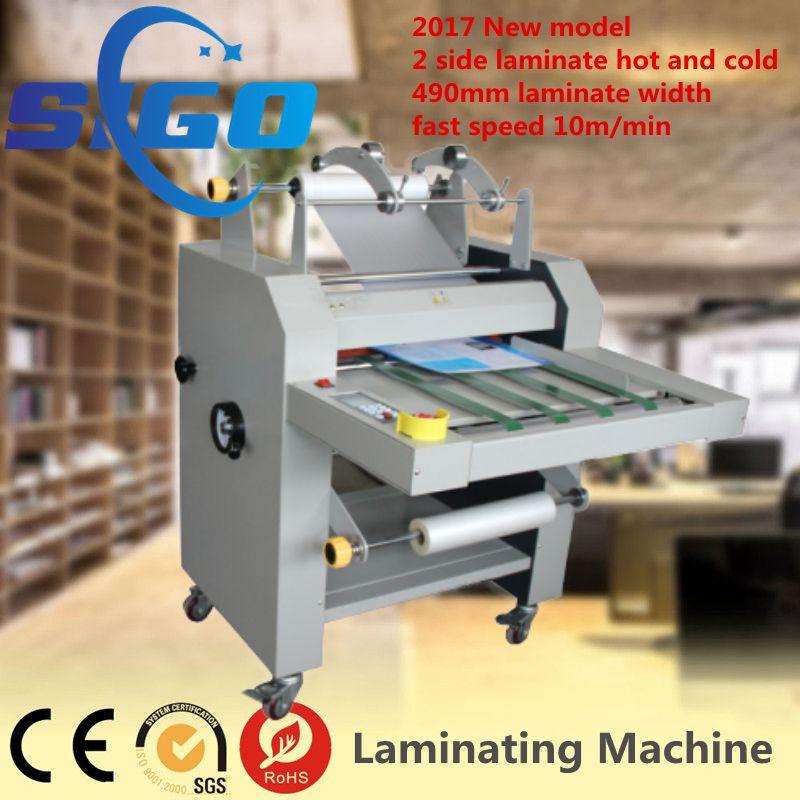 Sigo Sg 490 720 Fast Speed Semi Automatic Thermal Roll Laminating Machine Laminated Machine Laminate Machine