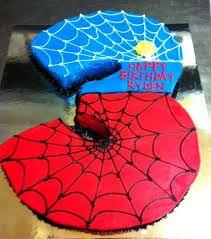 spiderman birthday cake - Google Search