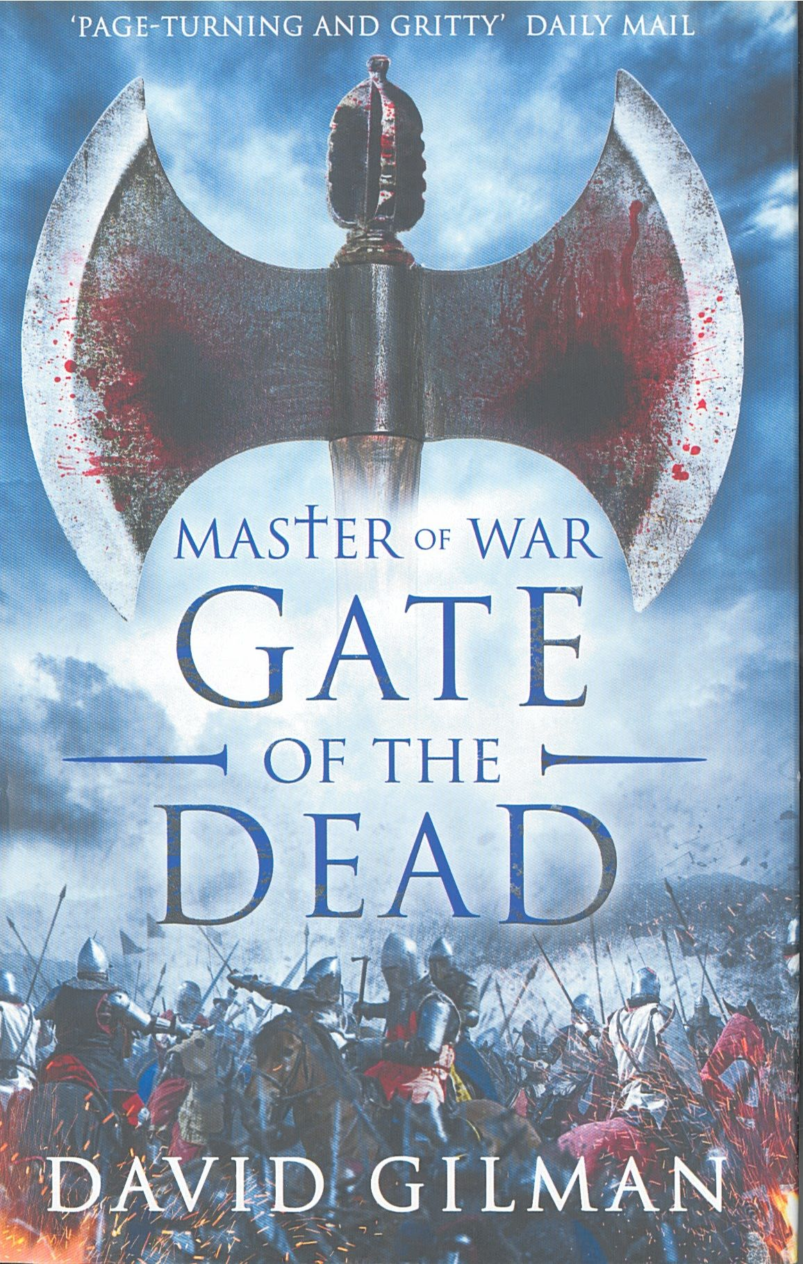 GATE OF THE DEAD's cover, written by David Gilman and