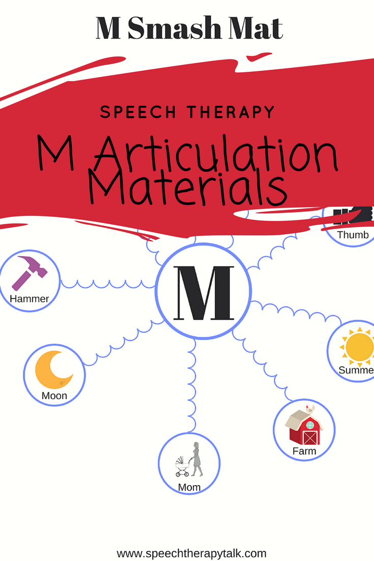 Worksheets Mommy Speech Therapy Worksheets m word list for speech therapy free worksheets and articulation materials lists games cues