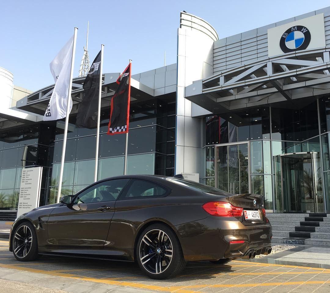 M4 Coupe Pyrite Brown M Performance #MPerformance
