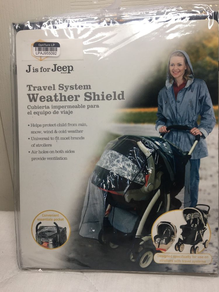 Jeep Travel System Weather Shield Baby Stroller Rain Cover
