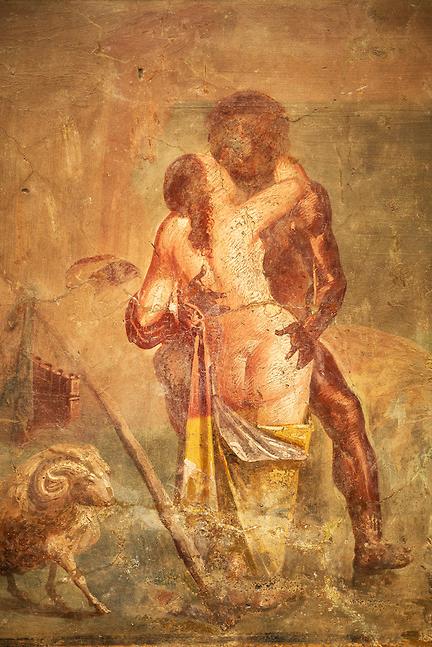 roman frescos Erotic