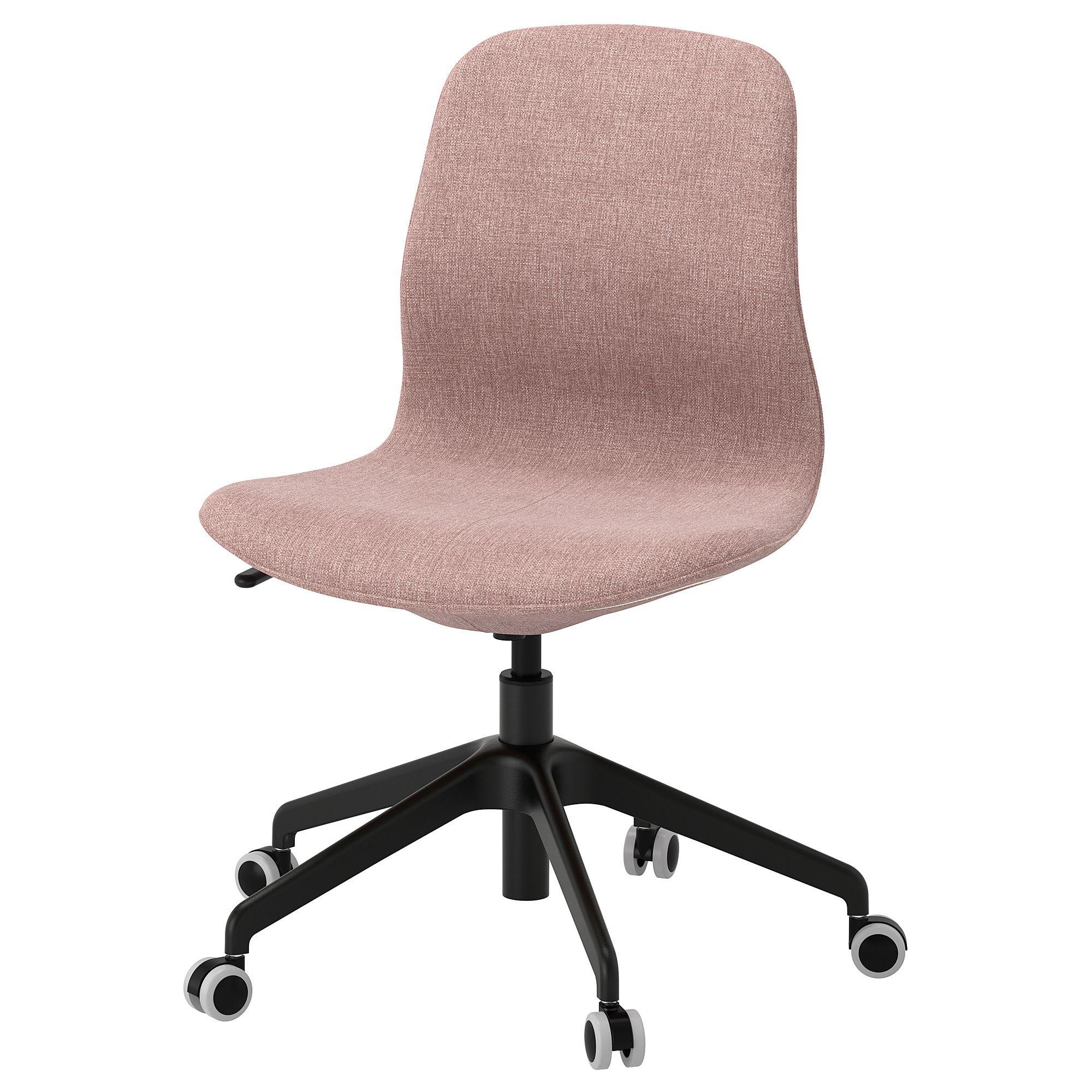 IKEA LÅNGFJÄLL Office chair Chair, Shabby chic table